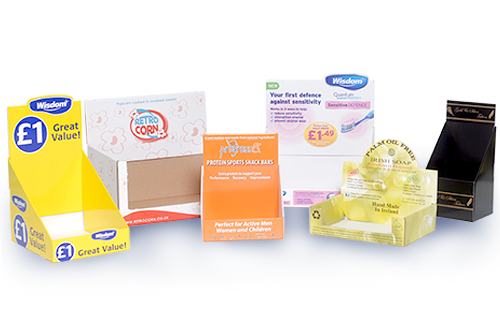 Counter display products